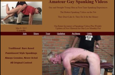 spanking men naked butts